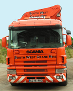 South West Crane Hire Ltd - CPA Contract Lift options.